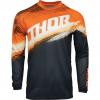 Motokros majica otroška Thor Sector Vapor oranžna