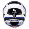 Motoristična čelada MT Helmets Atom SV Tarmac modra