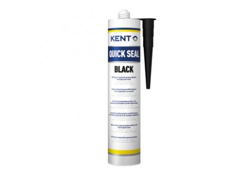 Lepilno tesnilna masa Kent Quick Seal črna