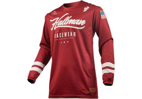 Motokros majica Thor Hallman hopetown rdeča